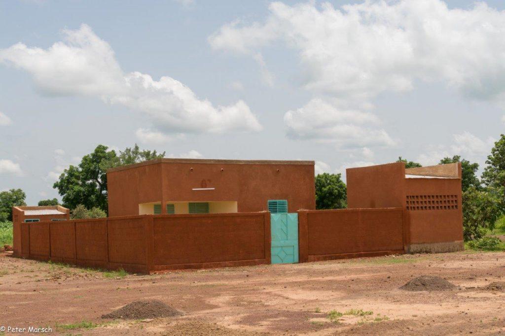 Neu gebaute Personalunterkunft